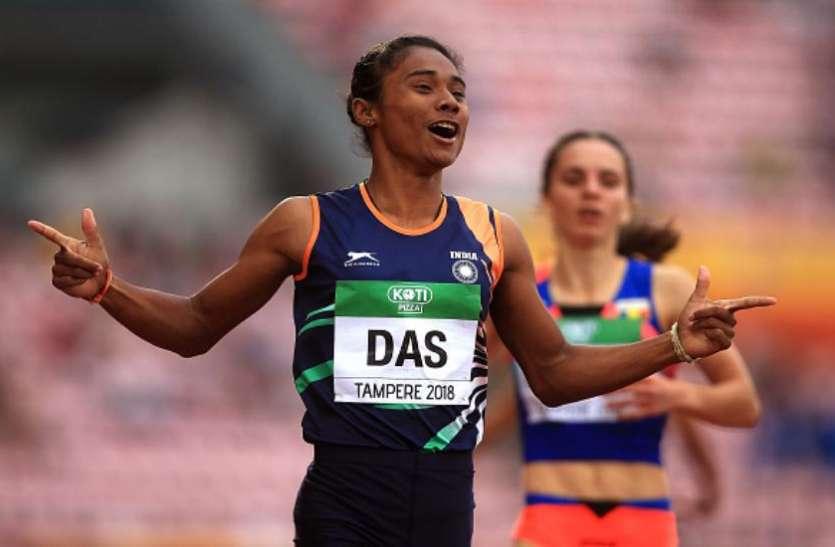 हिमा दास के कोच पर महिला एथलीट ने लगाया यौन शोषण का आरोप, दर्ज हुई FIR