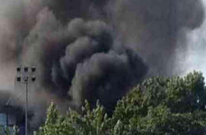 सेना की फैक्ट्री में विस्फोट, तीन कर्मचारी गंभीर, दहल गया क्षेत्र
