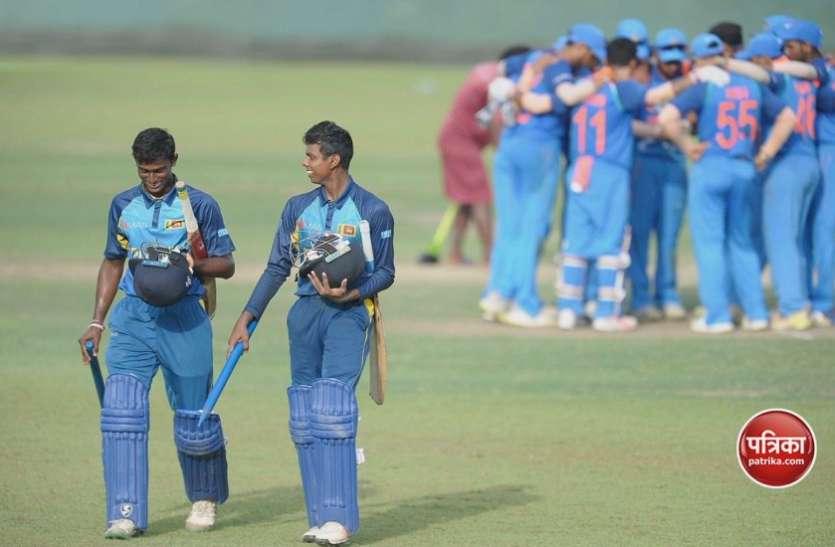 U 19 क्रिकेट: धनंजय की धुंआधार बल्लेबाजी से दूसरे मैच में भारतीय टीम को मिली हार