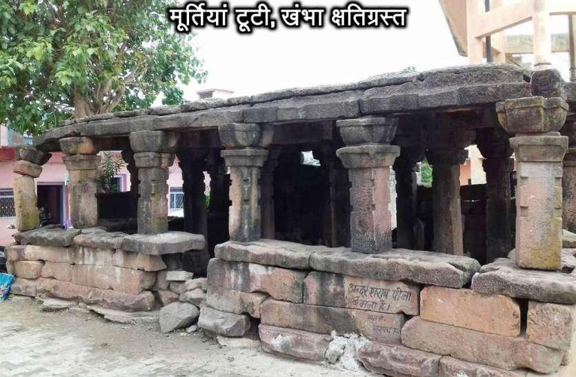 संरक्षण नहीं होने से उल्टा मंदिर जर्जर