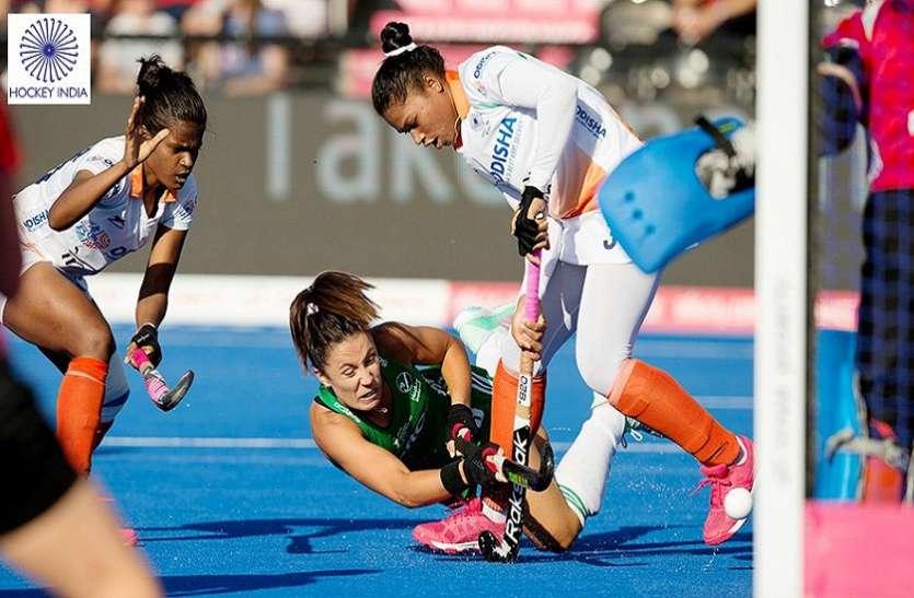 हॉकी विश्व कप: शूटआउट में हारी भारतीय टीम, आयरलैंड ने सेमीफाइनल में बनाई जगह