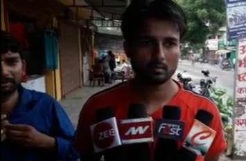 नाली का पानी निकालने के लिए दबंगो ने युवक को पीटा, पुलिस ने नहीं दर्ज की रिपोर्ट