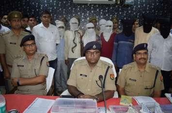 फिरोजाबाद पुलिस को मिली बड़ी सफलता, लूट करने वाले गिरोह को दबोचा