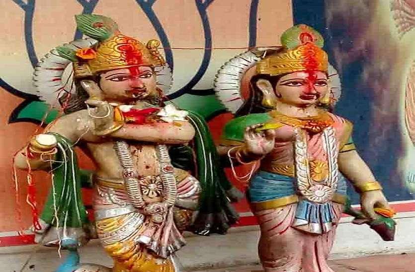 यूपी के आजमगढ़ में अराजकतत्वों ने तोड़ी श्रीकृष्ण प्रतिमा, आक्रोशित हुए ग्रामीण