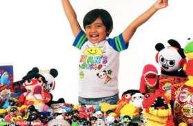 6 साल के करोड़पति बच्चे ने की वाॅलमार्ट के साथ डील, खिलौनों का होगा व्यापार
