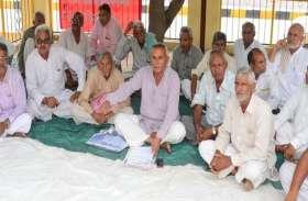 हक के लिए किसानों ने फिर बोला हल्ला