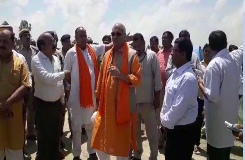 सिंचाई मंत्री ने दिया अजीबो-गरीब बयान, कहा- एक खास स्थान को छूकर ही लौटेगा घाघरा का पानी