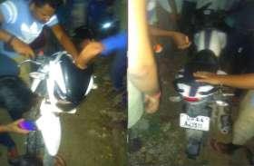 प्रतापगढ़ में हत्या करने आए बदमाशों को ग्रामीणों ने दौड़ाया