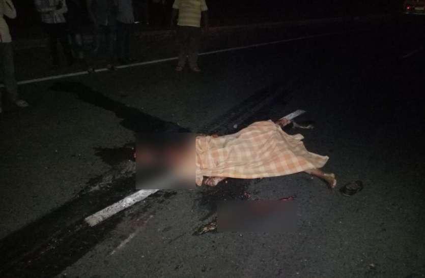 सड़क पार कर रही FDDI की छात्रा को रौंद गया पत्थर से भरा ट्रक, जिसने हादसा देखा दहल गया