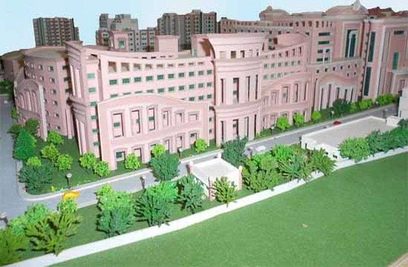केन्द्र सरकार ने खींचे हाथ, अब बेकार हो गया 800 करोड़ की लागत से बना भवन