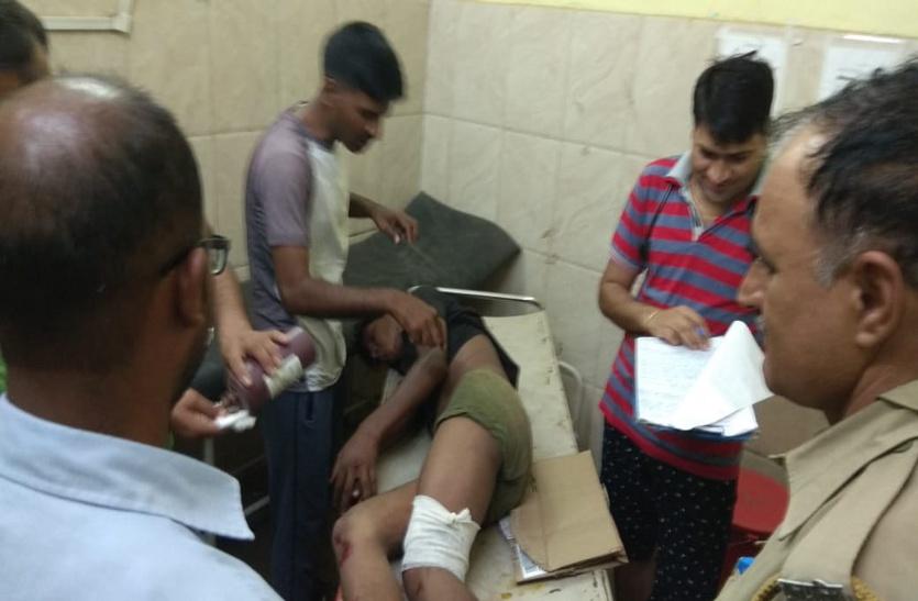OMG: ठेले पर मरीज को अस्पताल ले जा रहे लोगों को बेकाबू बोलेरो ने कुचला, 6 जनों की हालत नाजुक