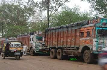 आगरा मुम्बई हाइवे पर थमे वाहनों के पहिए, डायवर्ट हुआ रूट