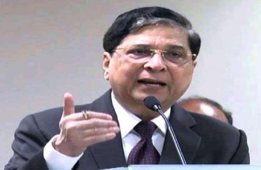 CJI दीपक मिश्रा: कानून बनाने का अधिकार संसद को है, अदालतों को लक्ष्मण रेखा नहीं लांघनी चाहिए