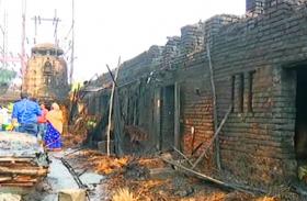 आग से अनंत वासुदेव मंदिर के 22 कमरे राख