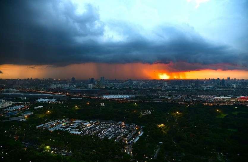 दिल्ली में फिर बदला मौसम का मिजाज, तेज हवा के साथ होगी बारिश