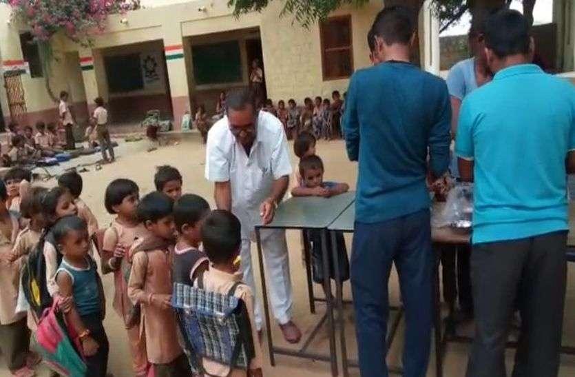 नरपड़ा से नरपुरा नामकरण होने पर ग्रामीणों में खुशी
