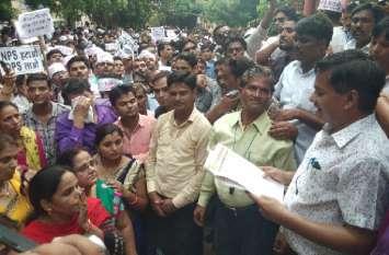 शिक्षकों का ऐलान, परिणाम भुगतने के लिए तैयार रहे सरकार