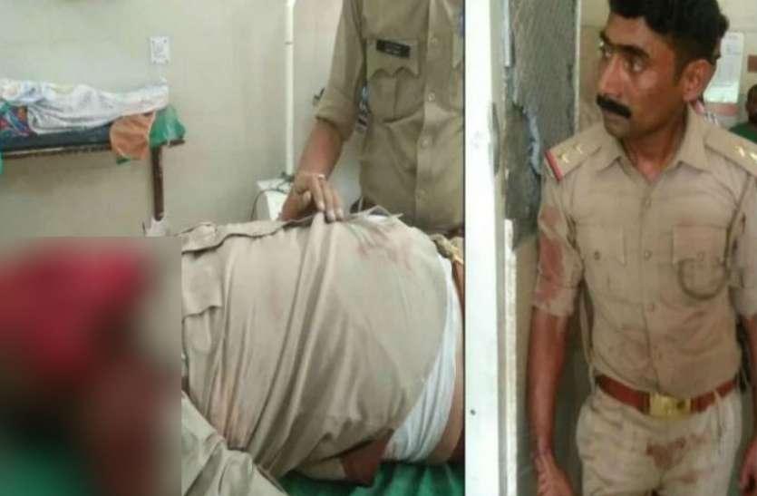यूपी पुलिस के दरोगा की पिस्टल ने दिया ऐसा धोखा, सिपाही के सिर में लगी गोली, मौत
