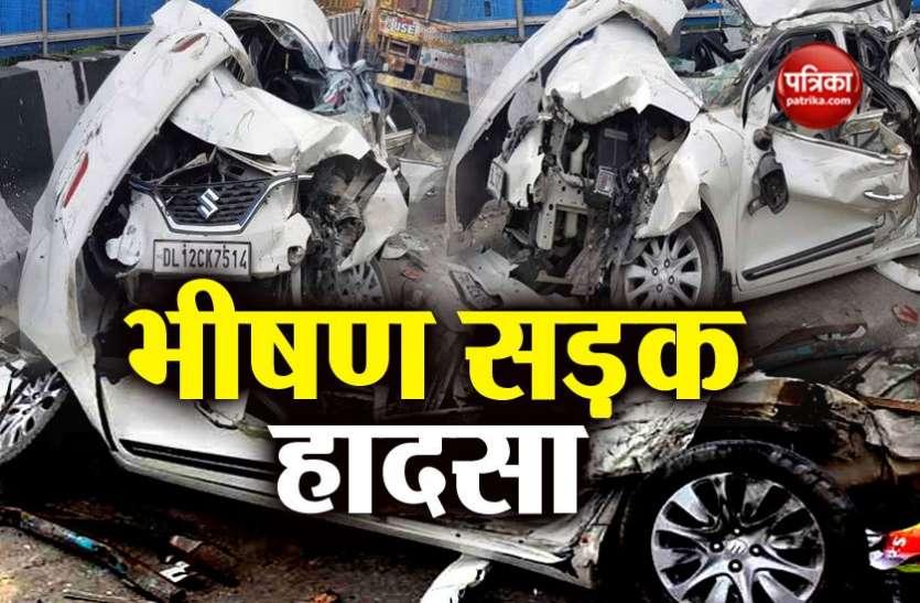 दिल्ली: बाहरी रिंग रोड़ पर भीषण सड़क हादसा, अनियंत्रित बस ने कई गाड़ियों को कुचला