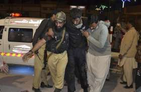 पाकिस्तान के बलूचिस्तान में आत्मघाती हमला, 5 लोग घायल