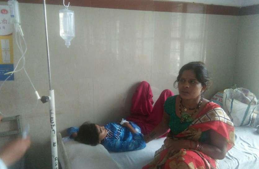 सेवासनी में उल्टी-दस्त से तीन की मौत, बीस ग्रामीण बीमार
