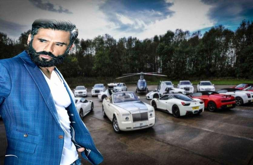 बॉलीवुड के अंबानी हैं सुनील शेट्टी, चलाते हैं ऐसी महंगी कारें जिन्हें देखकर चकरा जाएगा सिर