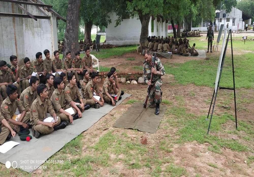 ncc training camp in jhansi