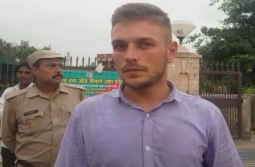 15 अ्र्गस्त से पहले बड़ी साजिश की फिराक में था ये विदेशी, सूचना मिलने पर पुलिस ने किया गिरफ्तार