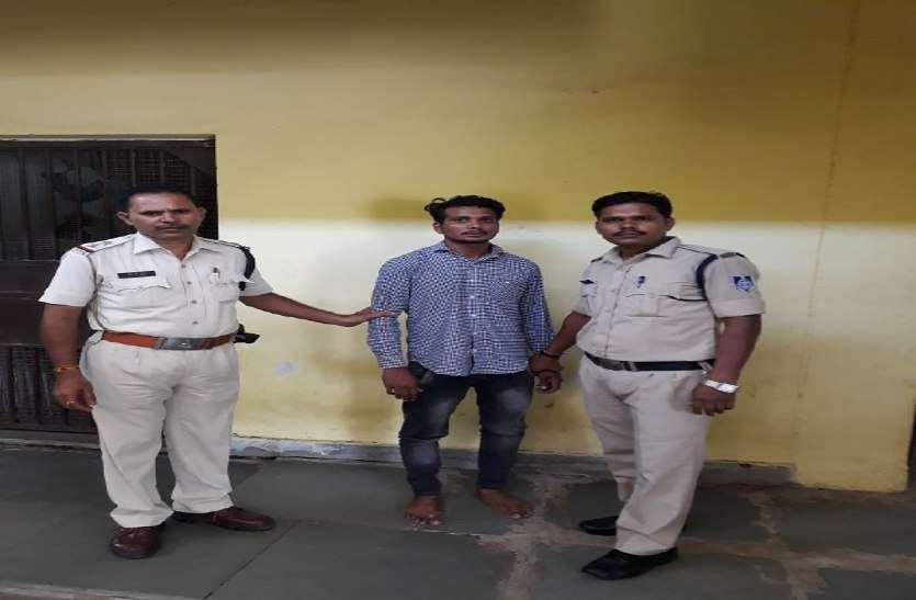 पुलिस ने निकाला मंचले का जुलूस, रहवासियों ने कहा आरोपी को मिले सख्त सजा
