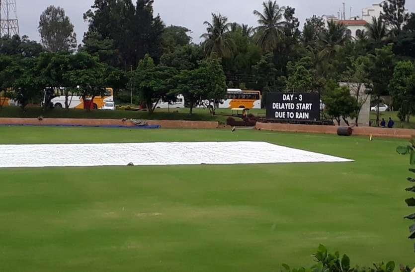 Ind'A' vs Sa'A': बारिश के कारण मात्र 33 ओवर का हो सका खेल, मैच ड्रॉ होने की आशंका