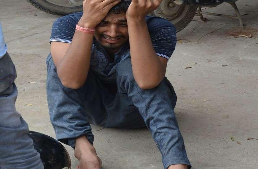 अलवर में ट्रक ने पति-पत्नी और पुत्री को बेरहमी से कुचला, सिर्फ छोटा बेटा बचा
