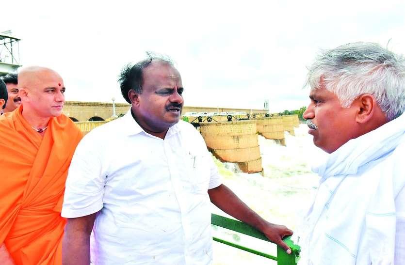 प्रचार का नाटक नहीं, किसानों का सम्मान : कुमारस्वामी