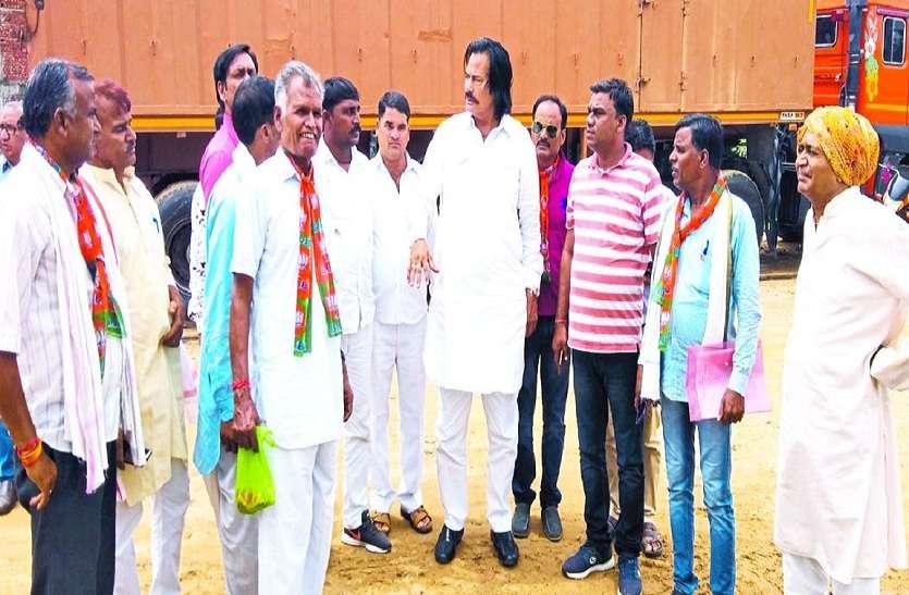 मंत्री ने देखा स्वागत स्थल, दिए निर्देश, मुख्यमंत्री की राजस्थान गौरव यात्रा
