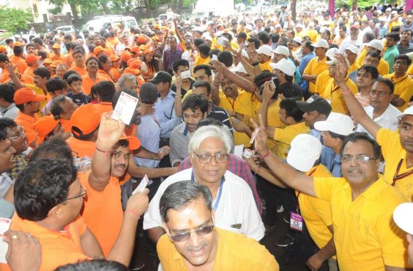 चुनाव में झलका मतदाताओं का उत्साह
