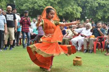 Hariyali Teej Festival in Sawan : हरियाली तीज पर जमकर मची धूम