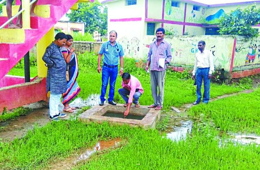 टंकी का दूषित पानी पी रहे थे डोंगीतराई के ग्रामीण, डायरिया से हुए ग्रसित