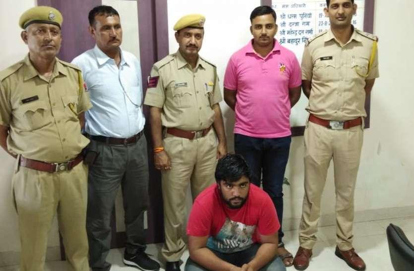 हरियाणा के हार्डकोर अपराधी नवीन सहित तीन जने गिरफ्तार