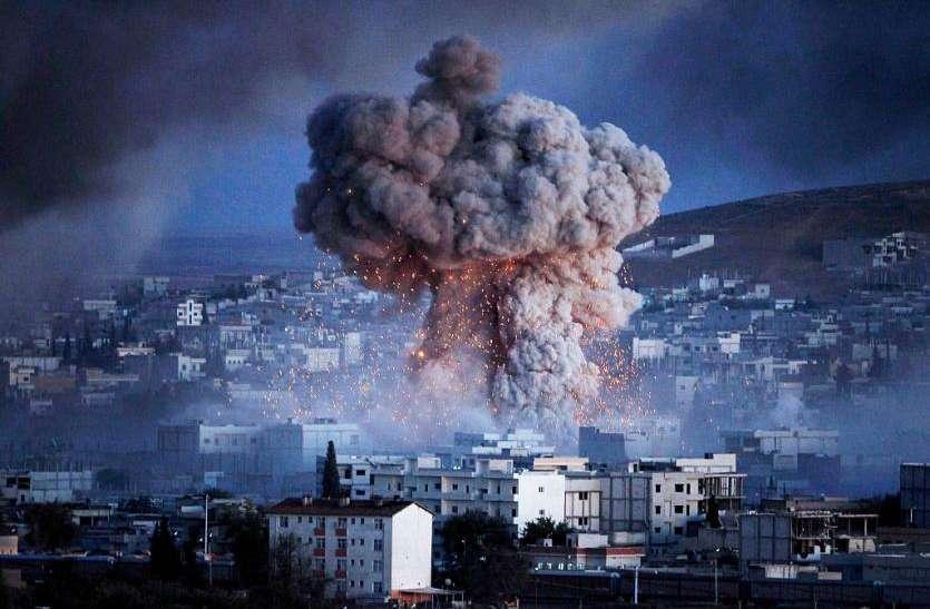 सीरिया: हथियारों के डिपो में हुआ विस्फोट, 39 की मौत