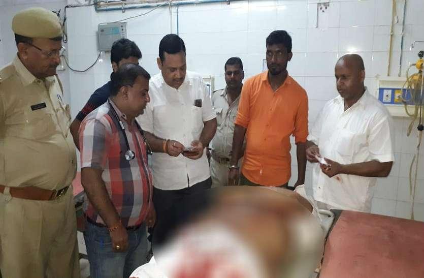 यूपी के जौनपुर में ताबड़तोड़ फायरिंग कर युवक की हत्या