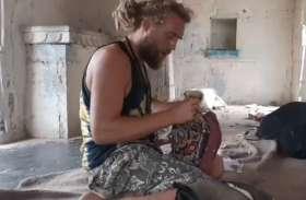 पुष्कर में विदेशी सैलानी ने मचाया उत्पात