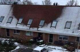 भारी बर्फबारी के बावजूद इस मकान पर नहीं थी बर्फ, पुलिस ने छापा मारा तो मिली ये खतरनाक चीज़