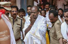 योगी को टक्कर दे रहे हैं एचडी कुमारस्वामी, 82 दिन में कर चुके हैं 40 मंदिरों के दर्शन