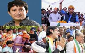 मध्य प्रदेश की राजनीति में पुत्रों को पिता का सहारा