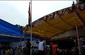जोरदार बारिश के बीच भी पूरी शान से मना स्वतंत्रता दिवस