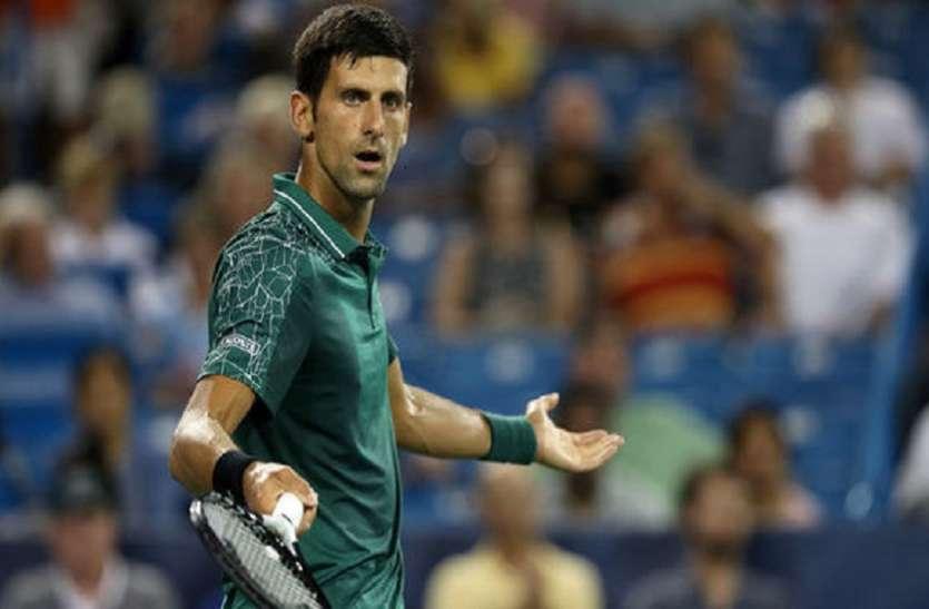 US Open: कड़े संघर्ष के बाद जोकोविच को मिली जीत, वोज्नियाकी हुई उलटफेर की शिकार