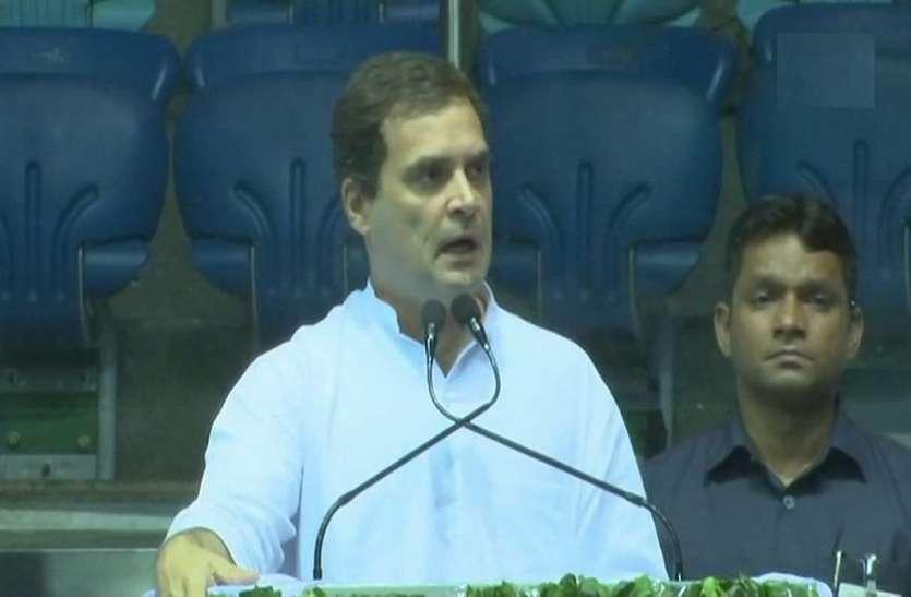 मुख्यमंत्री शिवराज ने राहुल गांधी से पूछे 10 सवाल