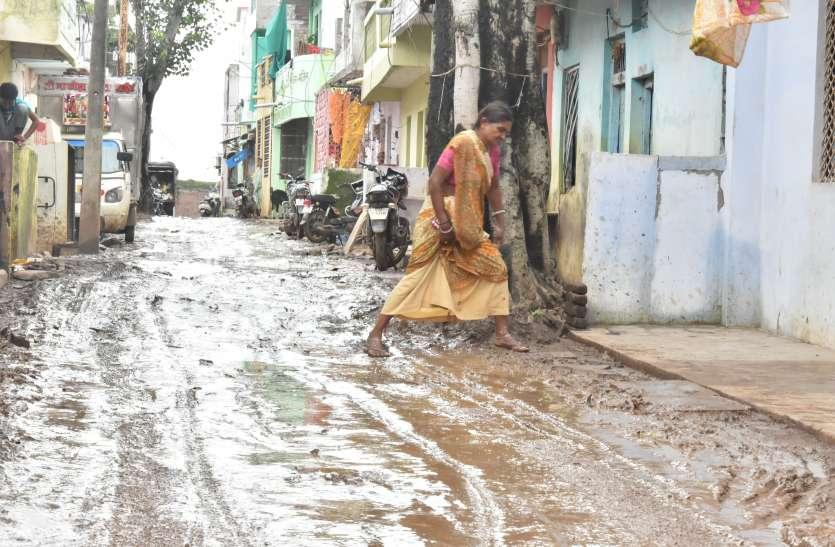 मध्यप्रदेश के इस इलाके में बारिश बनी आफत