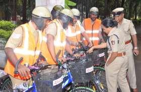 पुलिस कर्मचारियों के लिए साइकिल बीट : परमेश्वर