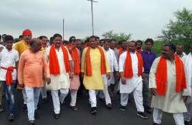 विधायक संजय शर्मा ने ककराघाट से डमरूघाटी तक निकाली कांवडय़ात्रा
