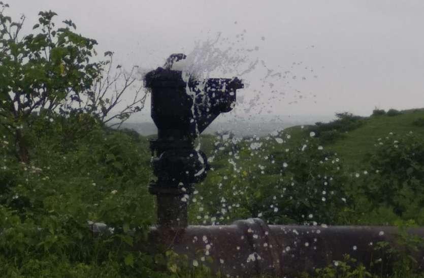 मध्यप्रदेश का यह शहर बारिश में झेल रहा पेयजल संकट
